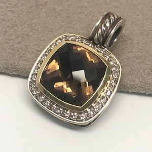 David Yurman Smoky Quartz Diamond Albion Enhancer